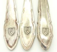 3 Pieces of Hermann Goring Silverware