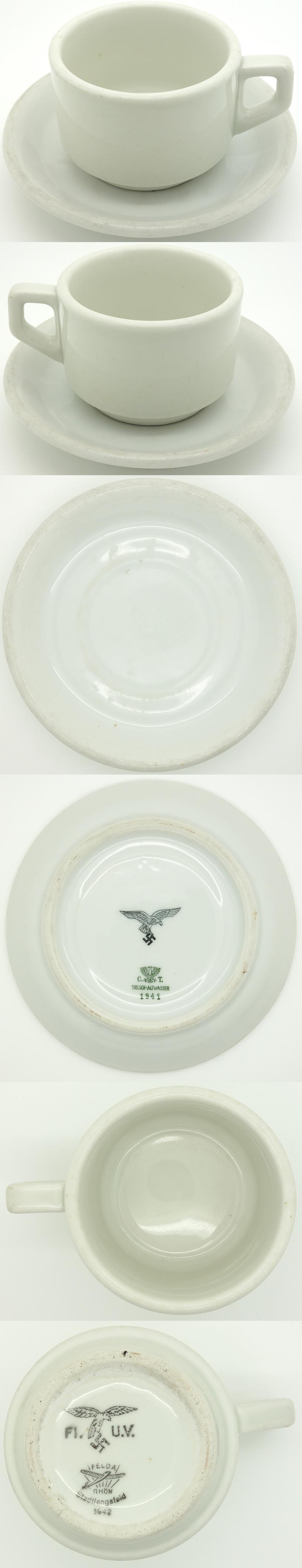 Luftwaffe Cup and Saucer
