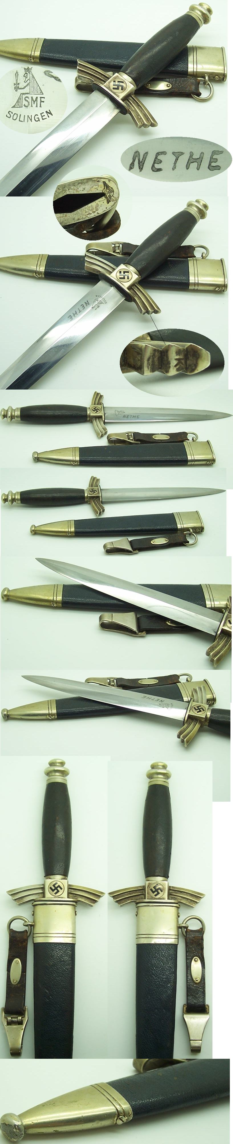 Personalized NSFK Dagger by SMF