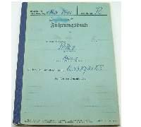 Fuhrungsbuch Service Record Helmut Pollex