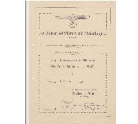 Army 18 Year Long Service Award Document
