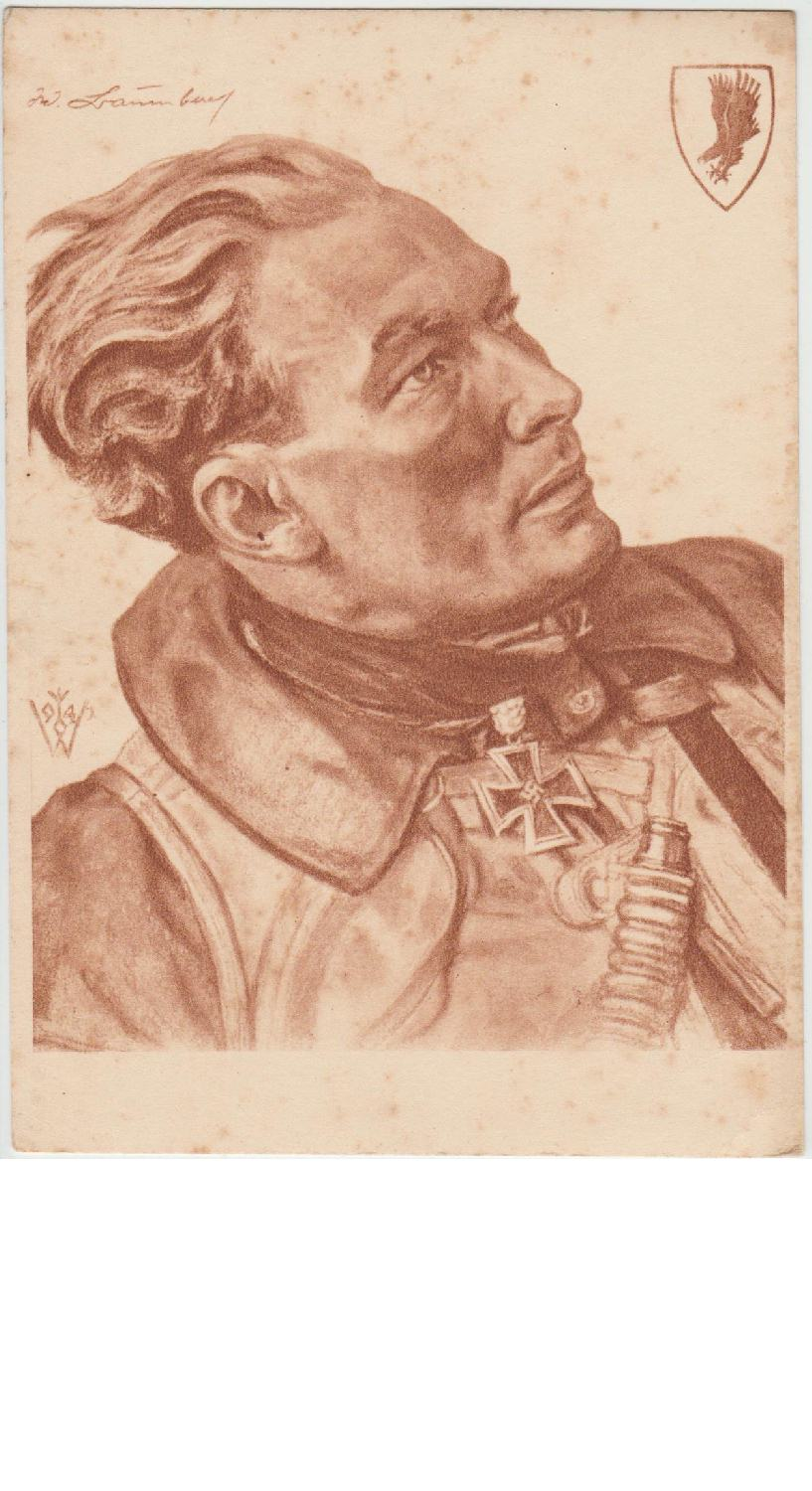 Knight's Cross Winner Major Werner Braumbach by Willrich