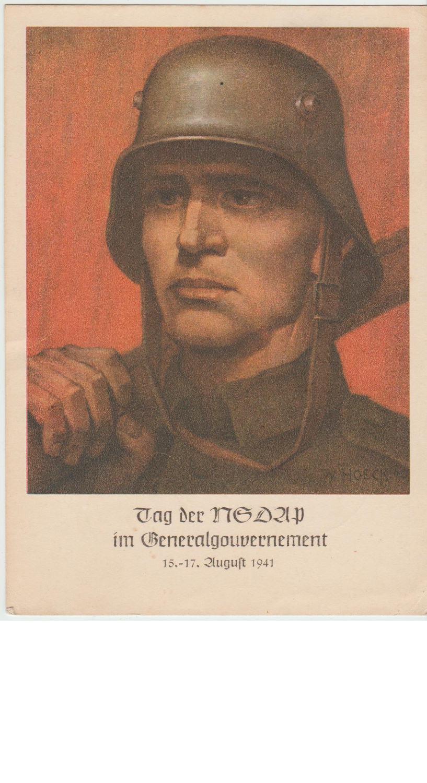 Tag der NSDAP Artwork Postcard
