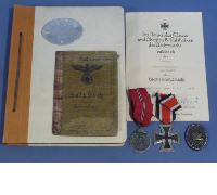 Document/Award grouping to Army Unteroffizier