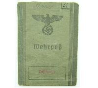 Wehrpass to Luftwaffe