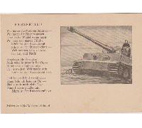 Panzerlied Postcard