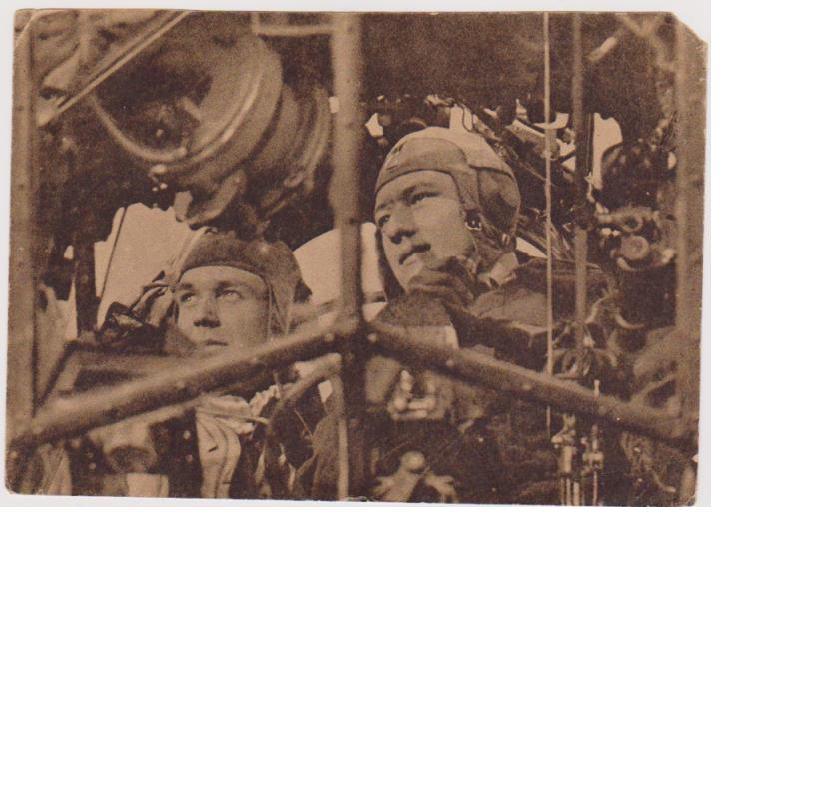 Luftwaffe Crew in Action