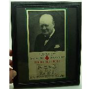 1944 Churchill Red Cross Calendar