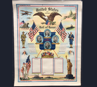 "USA - Roll of Honor ""War Presidents"" 1917 Poster"