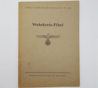 Wehrkreisfibel - Military Defense District Primer