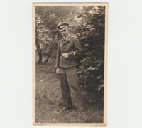 Photo of a Dashing young Luftwaffe EM