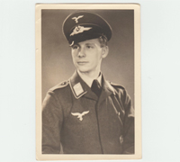 Photo of a young Luftwaffe EM