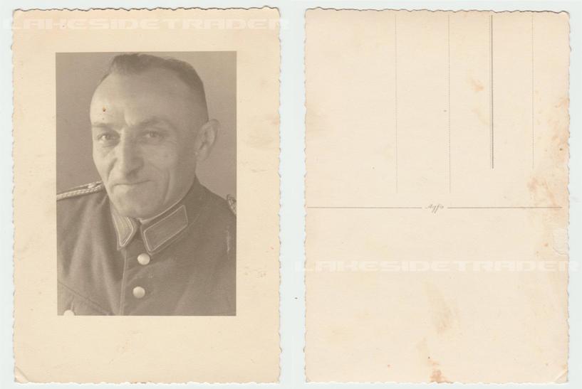 Police Portrait Postcard