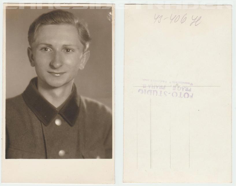 RAD Arbeitsmann Portrait Postcard