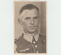 Infantry Officer Postcard
