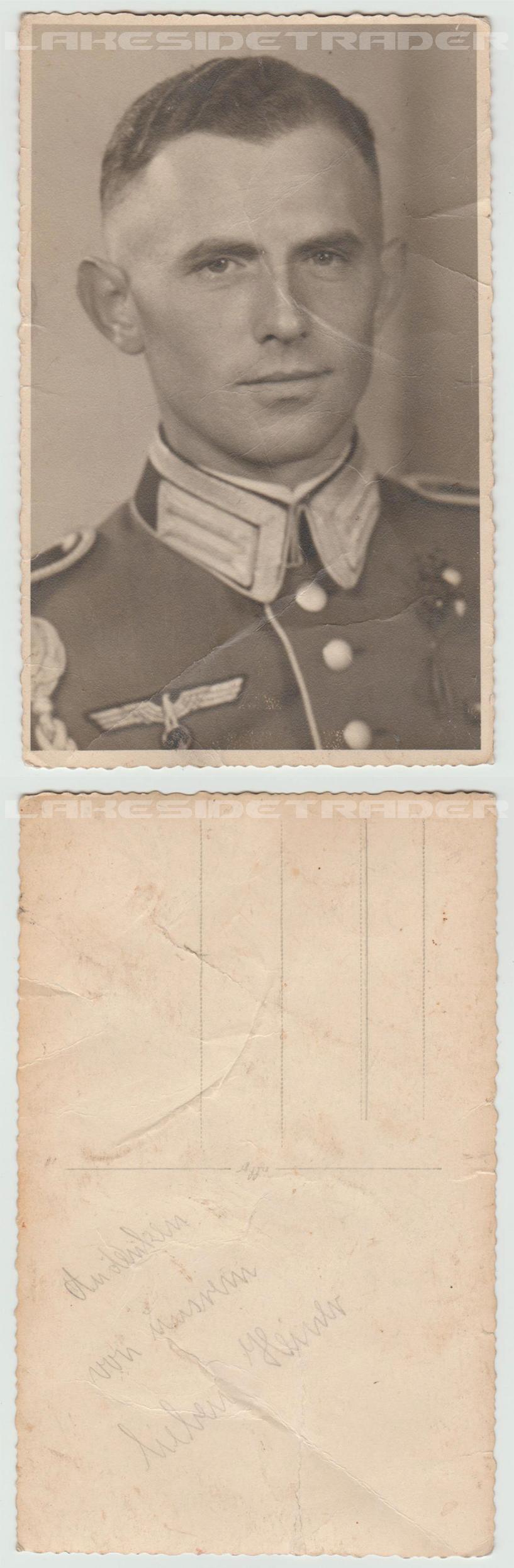 Infantry Officer Postcard