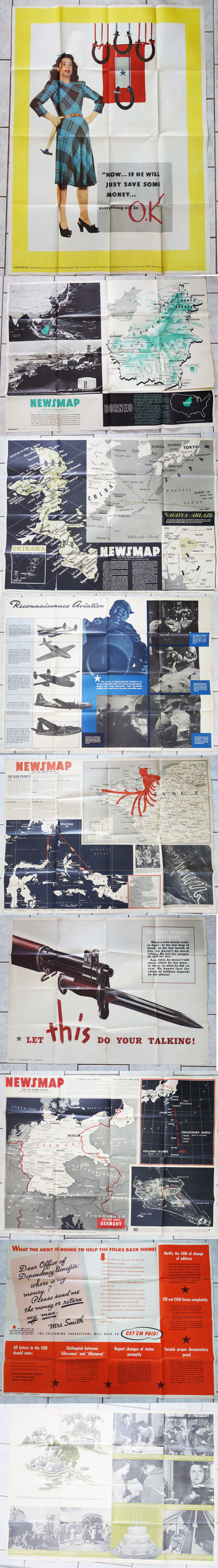 12 US Propaganda Posters