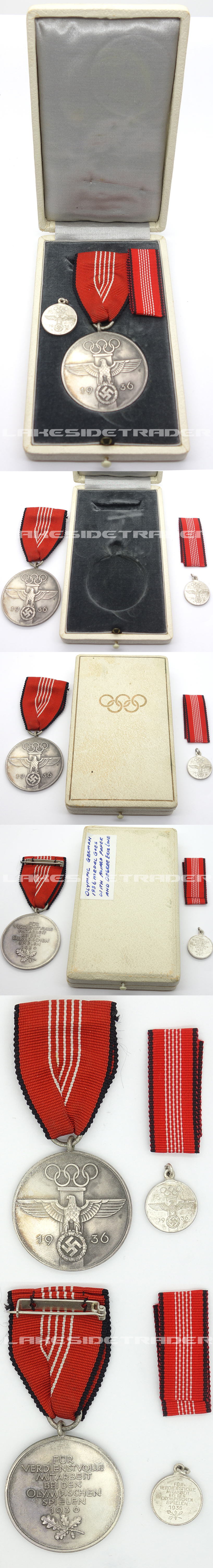 Olympic Medals and Document group