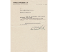 Junkers Flugzeugwerk 100,000 Km Flight Recognition Document 1932
