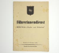 Führerinnendienst Sommerheft 1944