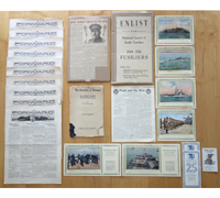US - 24 Piece Document/Photo Grouping