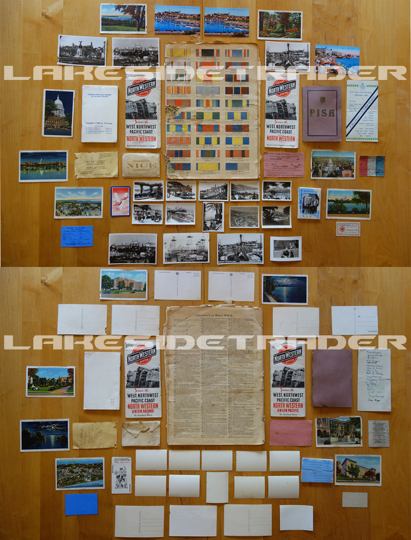 44 Piece Document/Photo Grouping