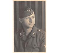 Luftwaffe Feldwebel Flieger EM Portrait Postcard