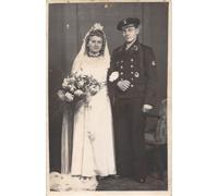 Kriegsmarine Wedding Postcard
