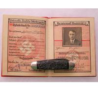 Early NSDAP Membership book