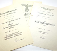 3 Documents to M. Wolfslast Railway Worker