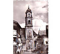 Church in Mittenwald Postcard