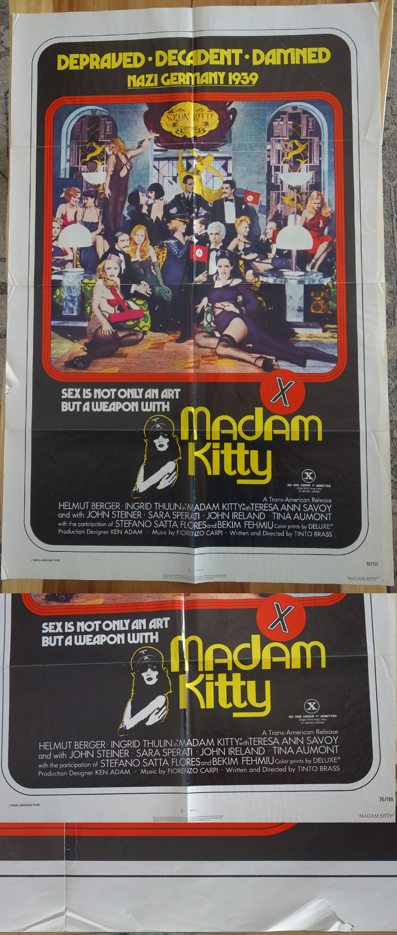 """Madam Kitty """"naughty"""" Poster"""