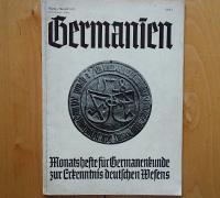 Germanien, August 1938, Issue 8
