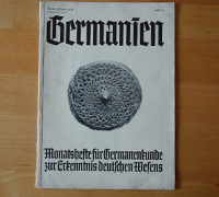 Germanien, October 1938, Issue 10