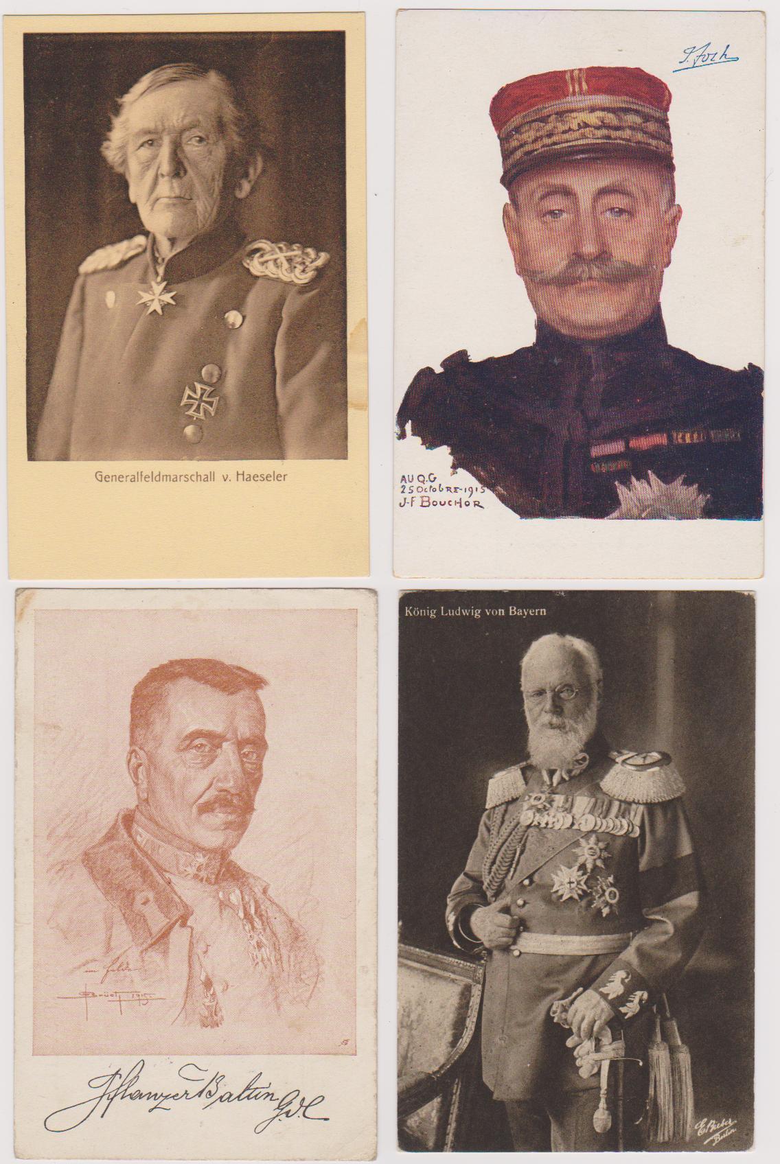 14 Imperial Era Postcards