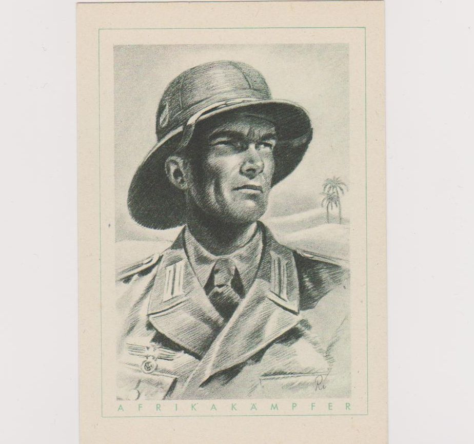 Afrika Corps Postcard