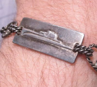 Submarine Sweetheart Bracelet 1945