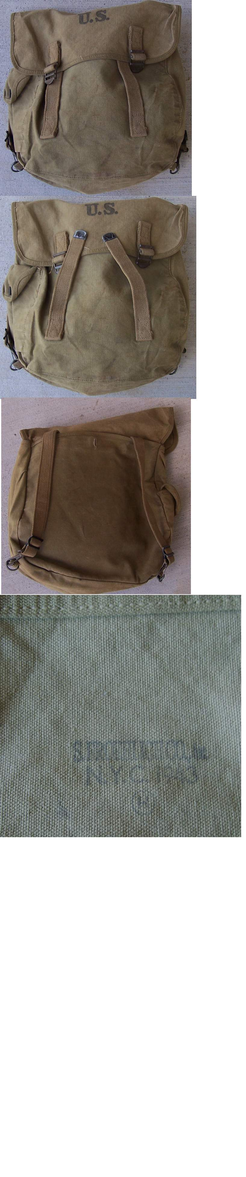 US Canvas Field ,Bag by S. Froehlich Co NYC 1943