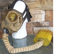 US WWII Vintage Gas Mask