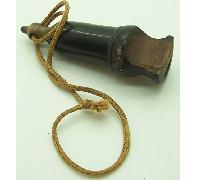 HJ Bakelite Whistle