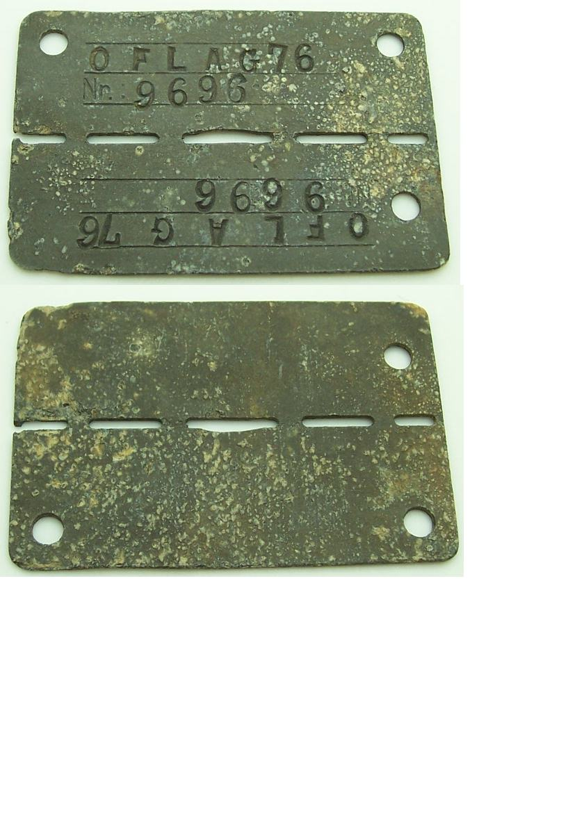 Allied POW Dog Tag for an Officer