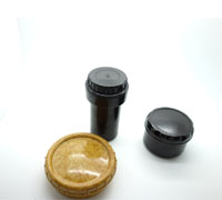 3 Bakelite containers