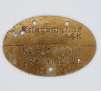 Kriegsmarine Dog Tag