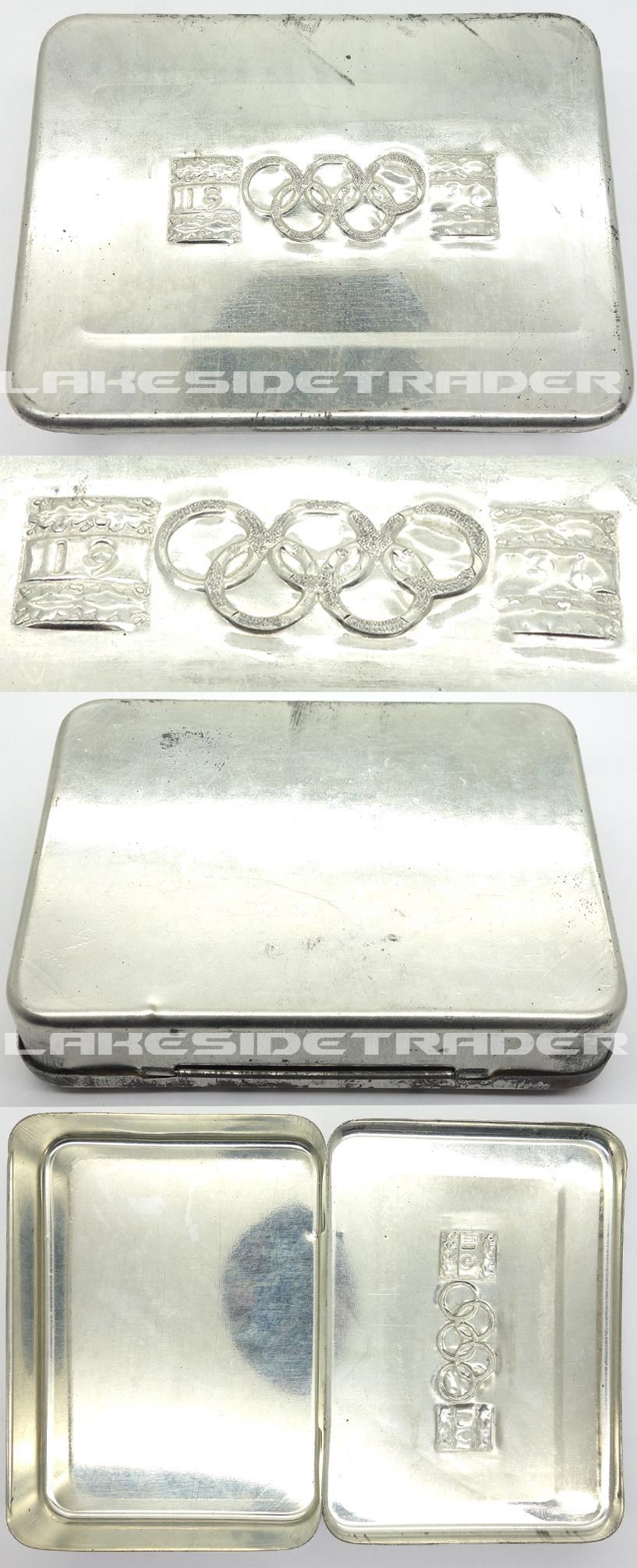 Olympic Souvenir Tin