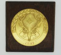 DJ Non-portable Award 1937 in Gold