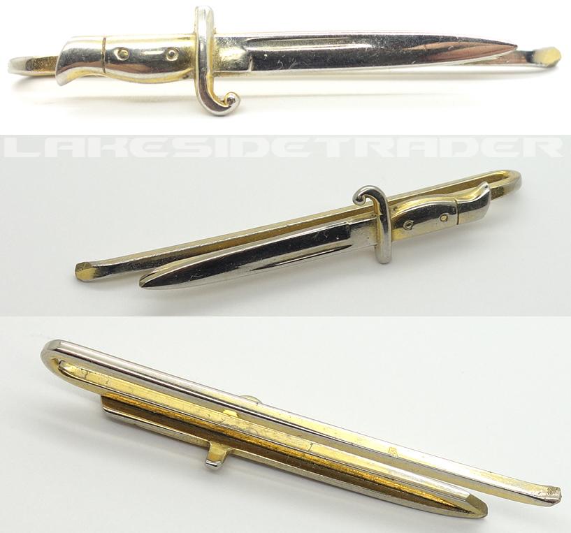 Bayonet Tie Clip