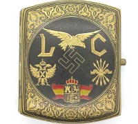 Personalized Condor Legion Cigarette case