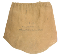 U.S. Cavalry Philips Pack Saddle (Spare Hair) Bag by JQMD 1941