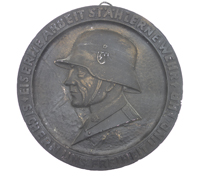 Reproduction SS commemorative plate