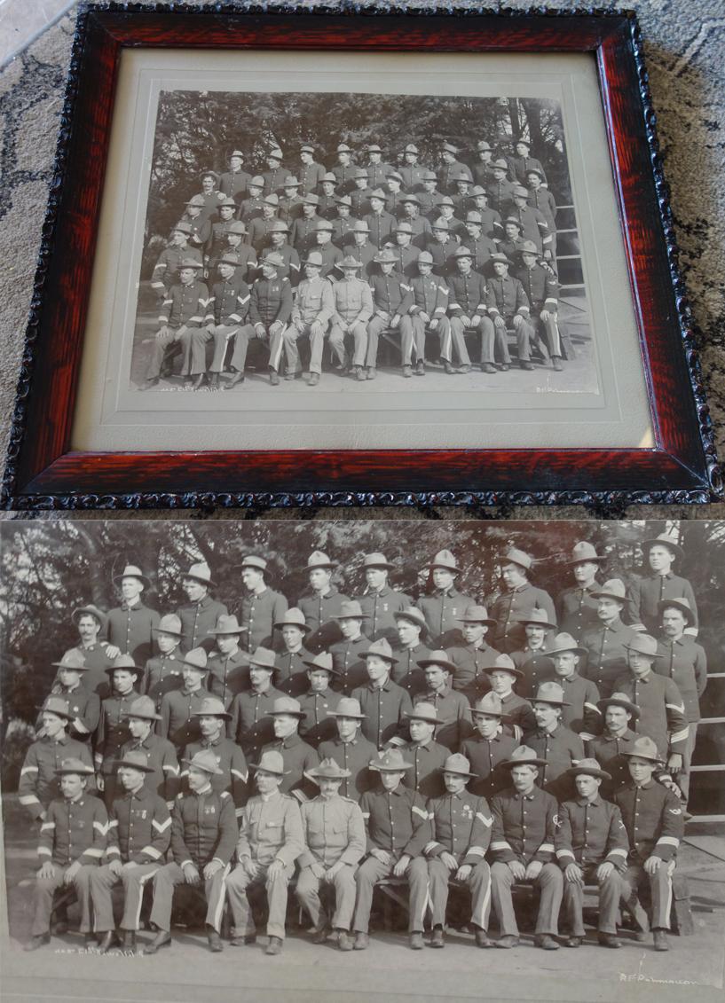 Spanish-American war Official photo of 51st Iowa Volunteer Infantry Regimen